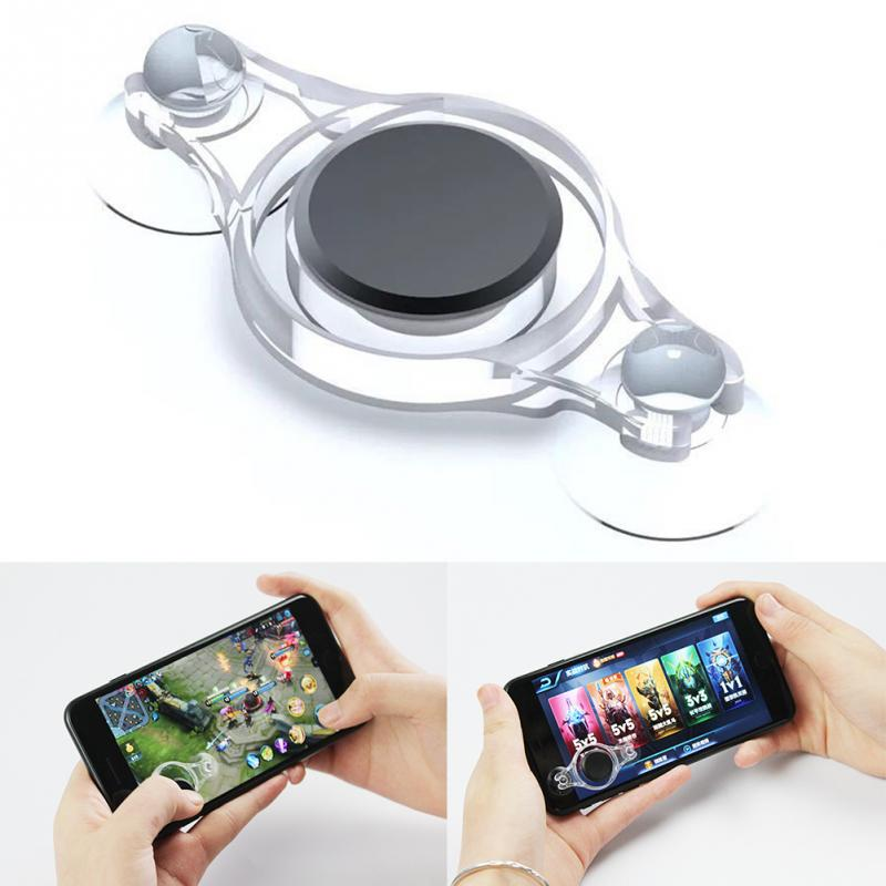 1Pc Mini Game Fling Joystick On Screen Mobile Phone Thumb Controller For Android IPhone Smartphone Mobile Phone Touch Screen