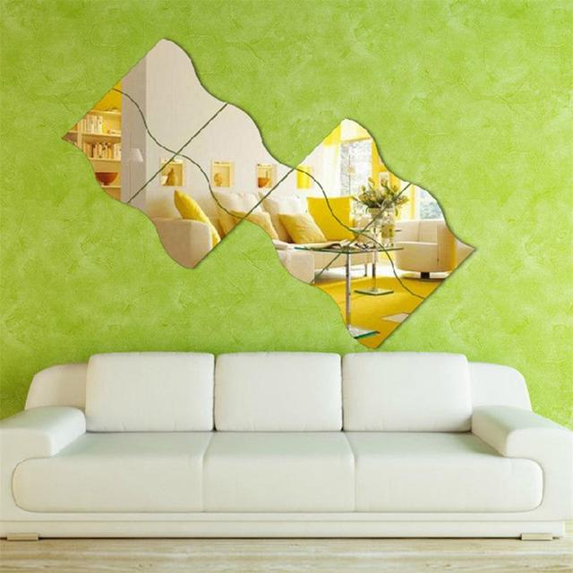 Wave Style Decorative Wall Mirror