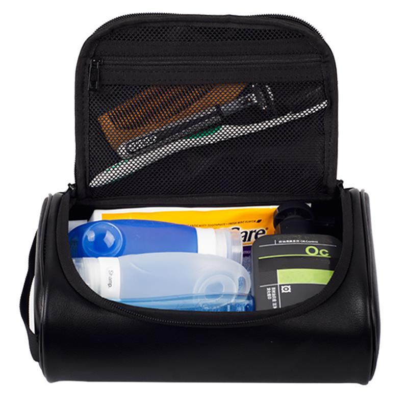 Makeup Bag Women Bags Men Large Waterproof PU Leather Travel Cosmetic Bag Organizer Case Necessaries Make Up Wash Toiletry Bag