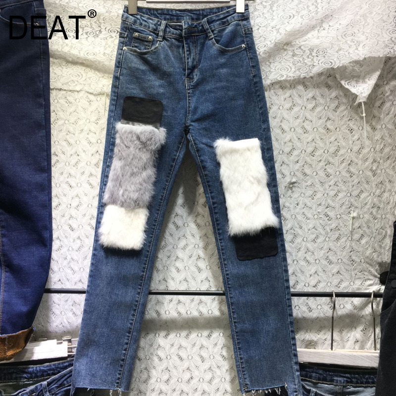 Women's Clothing Bottoms New Fashion Summer Vintage Washed Broken Edge Heavy Work Rhombic Hot Drilling Denim Shorts Women Students Jeans Shorts