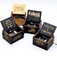 Горячая рука коленчатая музыкальная шкатулка деревянная игра трон Звездные войны замок в небе подарки на день рождения Рождественские подарки
