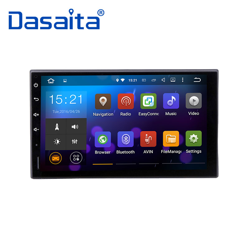 Lecteur DVD GPS de voiture Dasaita universel 7