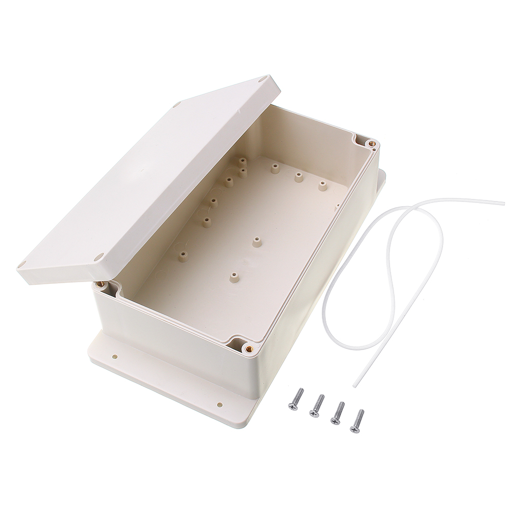 LEROY 1pc 200*120*75mm ABS Waterproof Plastic Electronic Project Box Enclosure Cover Case