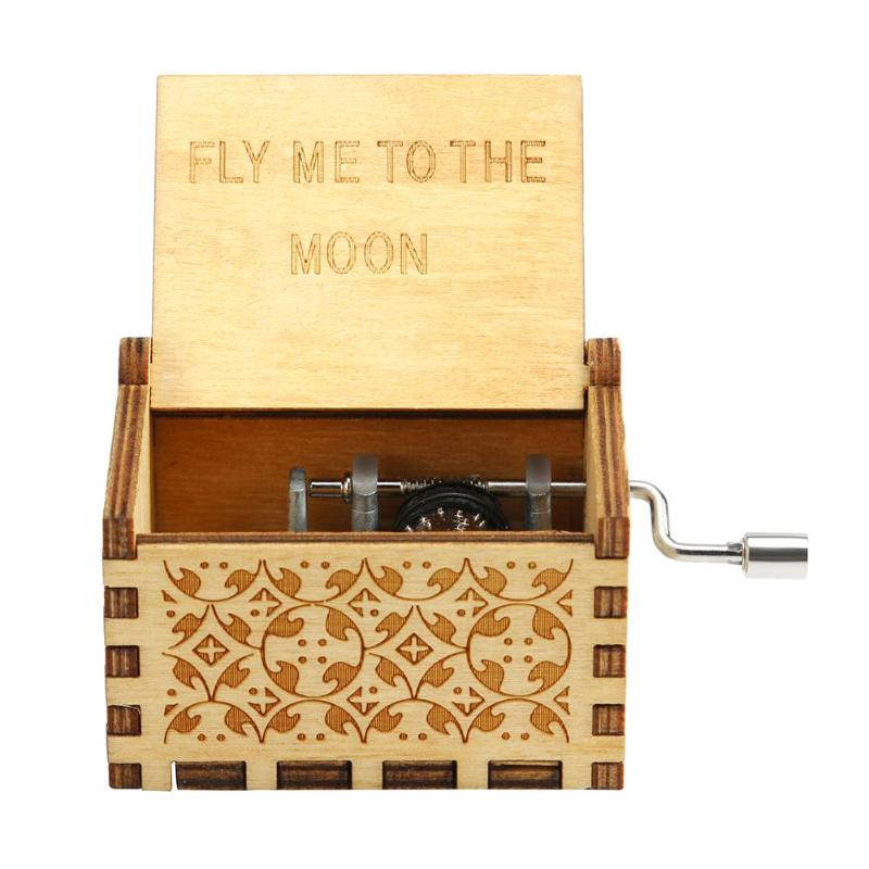 Retro de madera caja de música antigua manivela Musical caso a casa ornamento regalos E5M1 Lámpara de pared de cabecera antigua de estilo americano luces de sala de estar de una sola cabeza lámparas de bar de moda vintage