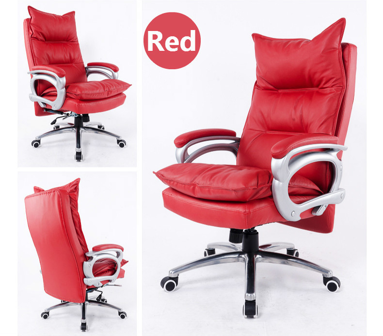 Купить с кэшбэком Luxurious and comfortable type lifting and rotating office chair home computer chair can lie massage chair furniture article