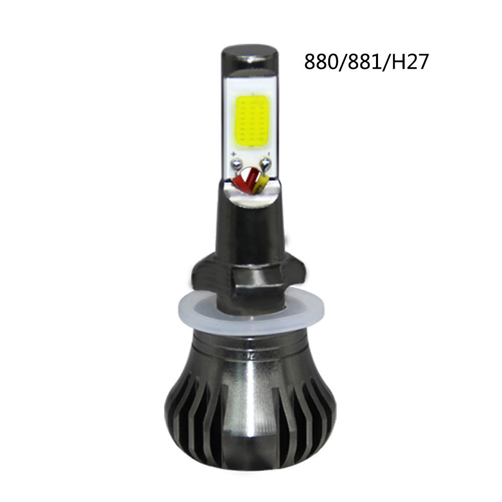 1PCS Constantly Bright Rapid Blinking Car Led Fog Light 880 881 H27 Flashing Fog Headlight Lamp