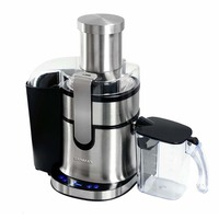 commercial household stainless steel juicer slag juice separation large diameter mouth fruit vegetable machine with touch screen