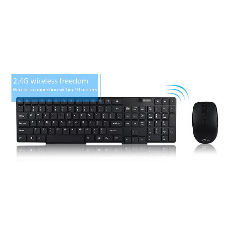 Big Sale 2.4G Wireless Keyboard / Wireless Mouse And Keyboard Set / Android TV Chocolate Keyboard Mouse Dropship 11.11
