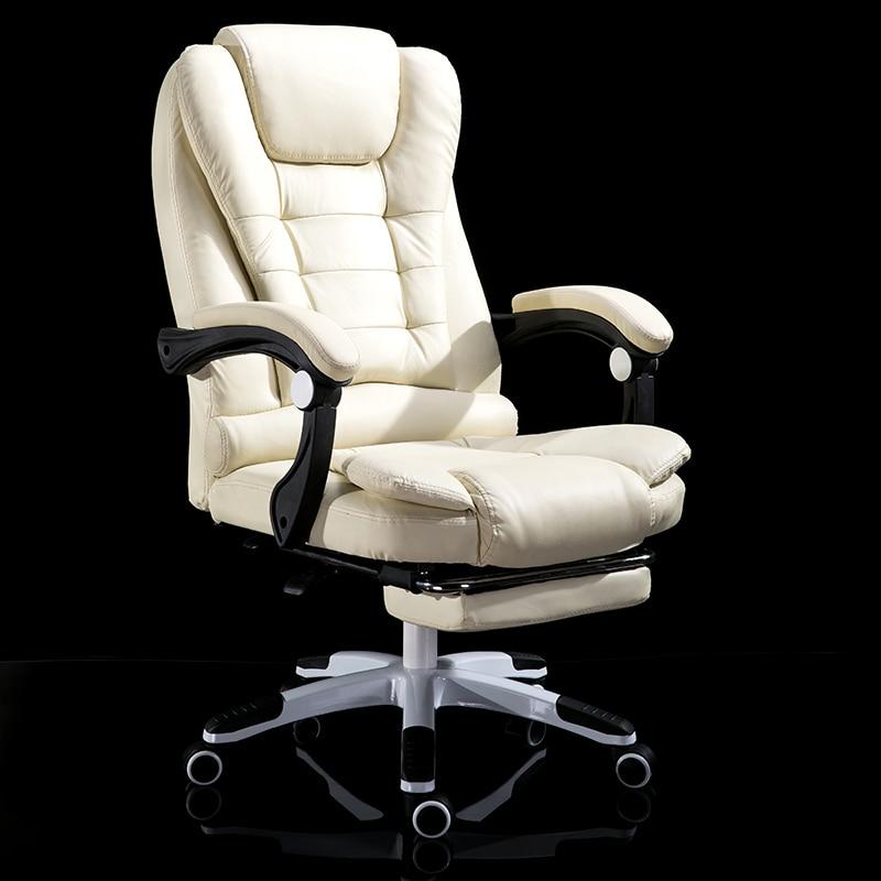 Household study Work folding Office furniture Can Lie Boss Massage Footrest Lift Swivel gaming computer ergonomic kneeling Chair