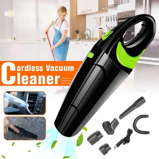 שואב אבק בית רכב 220 V מיני אלחוטי שואב אבק יד אבק אספן יבש רטוב Aspirador לרכב מנקה