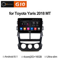 For Toyota Yaris 2018 MT AT Vehicle Android 8.1 Multimedia auto Dvd Car Player Auto Radio Gps Audio Stereo auto play Intelligent