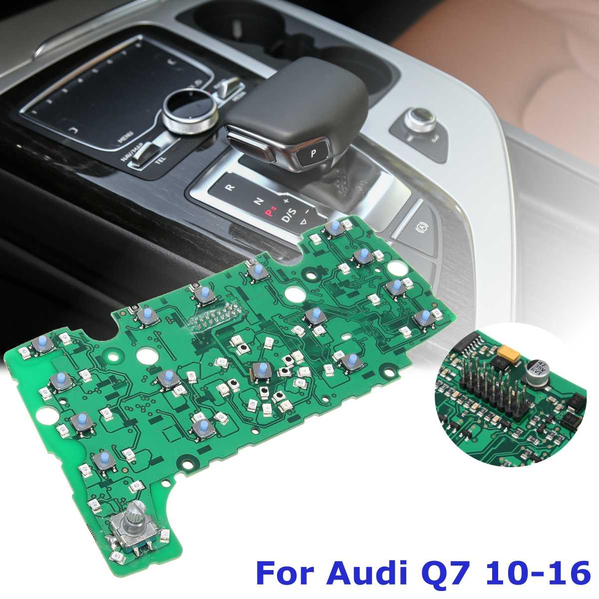 For Audi Q7 2010 2011 2012 2013-2016 Left Rudder LHD MMI Multimedia Interface E380 Control Panel Circuit Board Performance ChipsFor Audi Q7 2010 2011 2012 2013-2016 Left Rudder LHD MMI Multimedia Interface E380 Control Panel Circuit Board Performance Chips