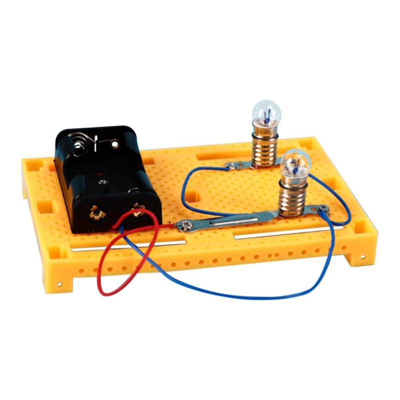 DIY Hand Generator Power Bulb Electrical Circuit Model Physics Science Electrical Circuit Experiments Kits DIY Hand Generator Power Bulb Electrical Circuit Model Physics Science Electrical Circuit Experiments Kits