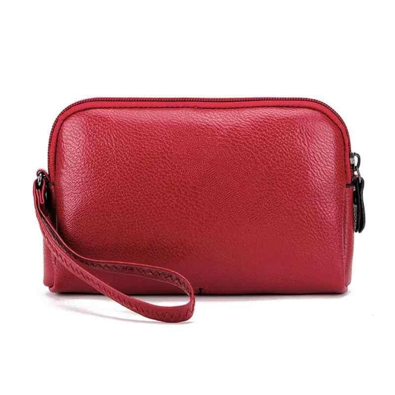 2019 Do Sexo Feminino Mini Bolsa Mulheres Designer de Moda PU de Couro Longo Carteira Mulheres sacos de Mão Do Telefone Senhora Carteiras de Embreagem Bolsa