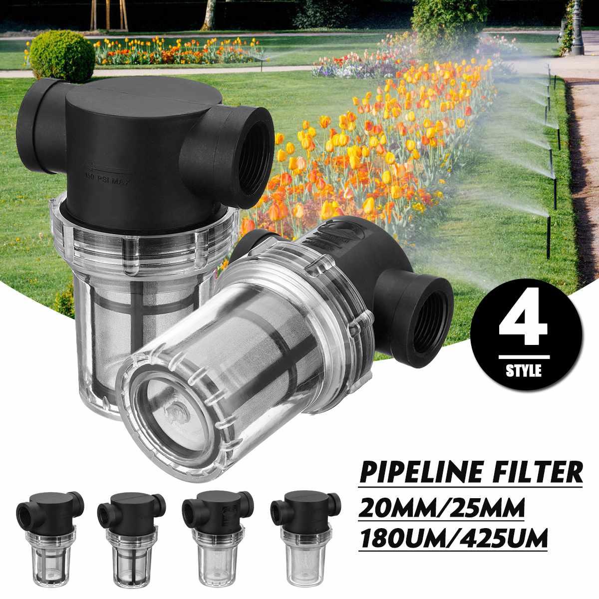 1Pcs Garden Pond 20mm/25mm Inline Mesh Strainer Water Pump Filter Irrigation High Flow Pipeline Filter1Pcs Garden Pond 20mm/25mm Inline Mesh Strainer Water Pump Filter Irrigation High Flow Pipeline Filter