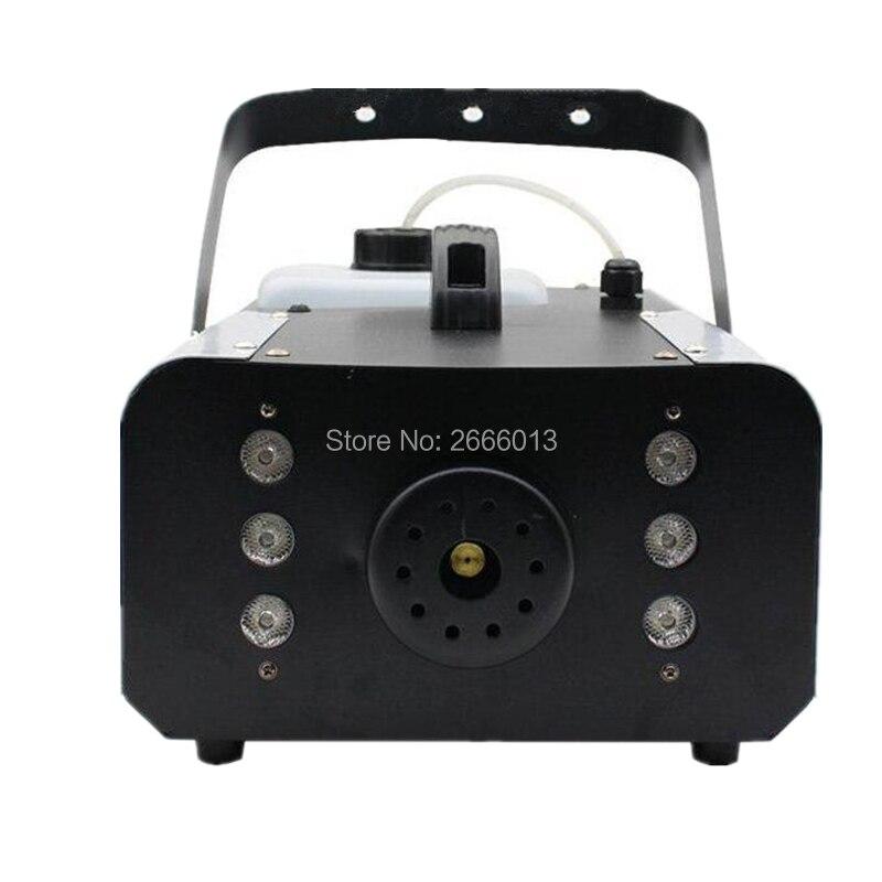 Machine sans fil superbe de fumée de contrôle de la Machine 3L de brouillard de LED 1500 W avec le LED de rvb 3IN1 allume la Machine professionnelle d'étape DJ/barre/brumisateur