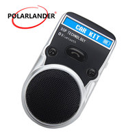 Solar Power AUX Receiver Wireless Bluetooth Car Kit For Cigarette Lighter USB Free Adapter LCD Display Handsfree Speakerphone