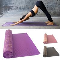 183x61x0.5CM PVC Yoga Mat Sports Fitness Pad Cushion With Mesh Bag For Gym Exercise Dance Mats