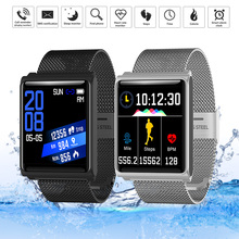 GZDL Bluetooth Sports Smart Watch Stainless Wristwatch Heart Rate Blood Pressure Monitor WT8335