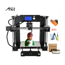 цены на Anet A8/A6 FDM 3d printer for kids students beginners nice looking and competitive price 3d printing machine with free filaments  в интернет-магазинах