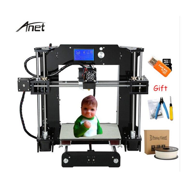 Anet A8/A6 FDM 3d imprimante pour enfants étudiants débutants agréable à regarder et concurrentiel prix 3d imprimante avec livraison filaments