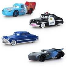 Disney Pixar kids toys Cars 3 mini McQueen Jackson Storm Cruz Mater Mack Uncle Truck 1:55 Diecast Metal Car Model Boy  Hot Sale