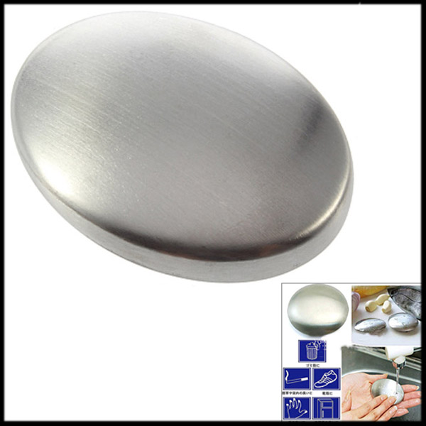 200pcs new Stainless Steel Soap Odour Remover Kitchen Bar Hand Eliminating Odor Smell Chef-in Soap from Beauty & Health    1