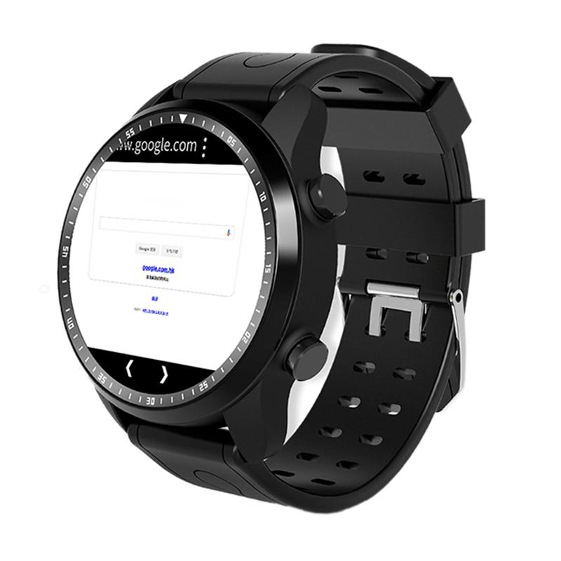 KC03 montre intelligente Android 6.0 OS Smartwatch 4G Wifi GPS 1 GB + 16 GB montre-bracelet soutien Whatsapp Facebook Youtube