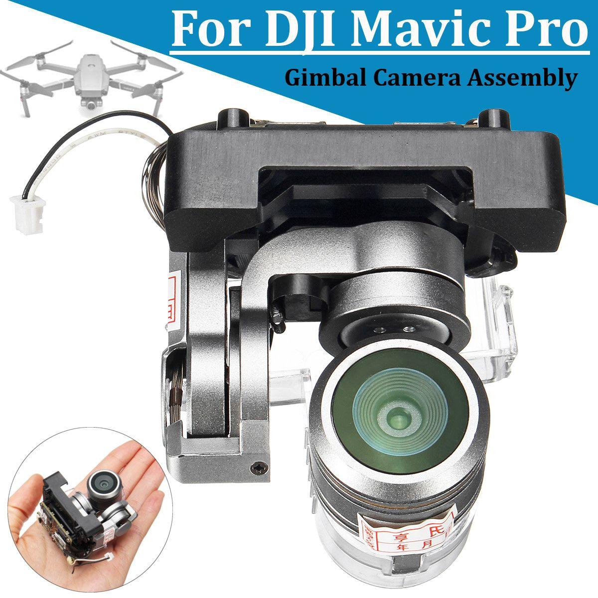 Pour DJI Mavic Pro cardan caméra assemblée 4k vidéo caméra cardan pièce de réparation outil avec objectif caméra Drones réparation accessoires nouveau