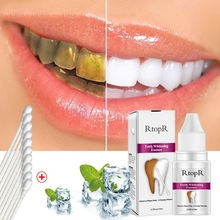 RtopR 1pc 10ml Daily Use Dental Effective Remove Plaque Stain Teeth Cleaning Water