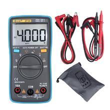 BSIDE ZT100 Digital Multimeter 4000 Counts Back Light AC/DC Voltage Ammeter Voltmeter Ohm Tester Frequency Diode Meter unit digital multimeter dc ac voltage current meter handheld ammeter ohm diode capacitance tester 1999 counts multitester ut58e