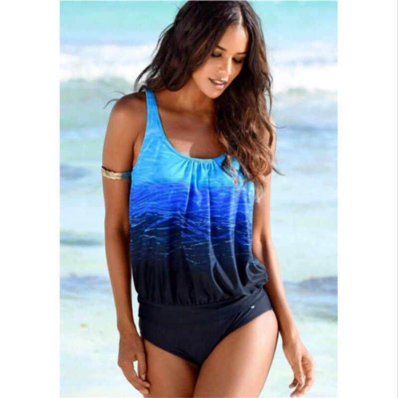 Plus Size Women Sporty Bikini Set Push Up Padded Swimsuit Swimwear Bathing Suit XXXL maillot de bain femme biquini