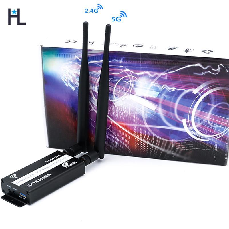 Adaptateur wifi USB NGFF M2 2.4G/5G adaptateur de carte réseau sans fil avec emplacement pour carte SIM pour ordinateur portable Module WWAN/LTE/GPS/4G