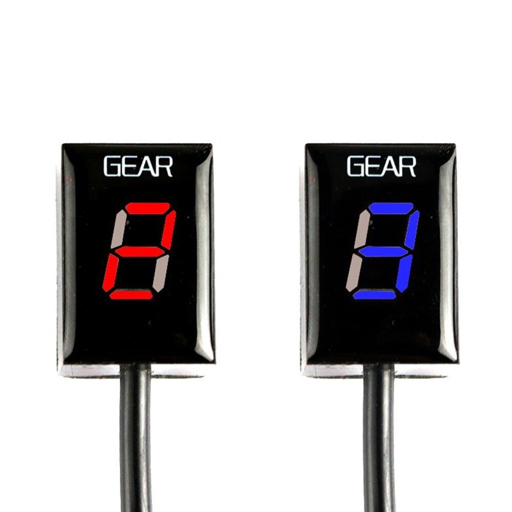 Мотоцикл Ecu прямое Крепление 1 6 скорость шестерни дисплей индикатор для Kawasaki ER6N Z1000SX Ninja300 Z1000 Z800 Z750 versys 650 Z400-in Инструменты from Автомобили и мотоциклы