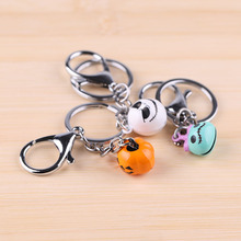 Halloween cartoon bell keychain creative cute men and women