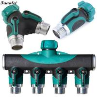3/4 Inch Splitters Hose Valve Threaded Eliminate leaks the joint. Check Pipe Water Pcs/Set Flow Switch Irrigation