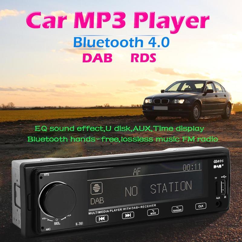 SWM K701 DAB autoradio lecteur MP3 Bluetooth RDS AUX USB TF carte Audio numérique voiture lecteur RCA Audio numérique