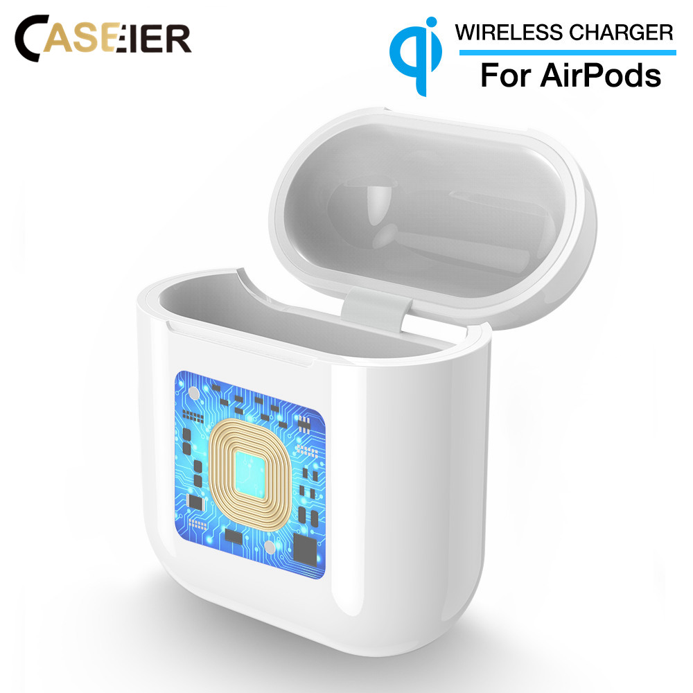 CASEIER Charger-Box Airpods Ce For Defend Wireless Box-Cover