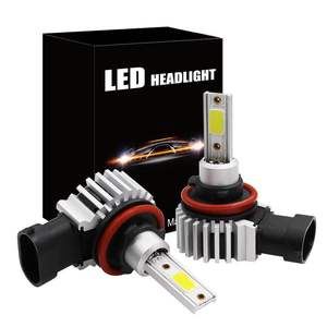 2pcs 60W 8000LM Car LED Headli