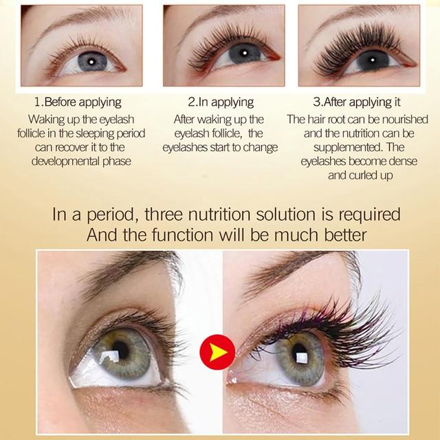 Eyelash Growth Serum Liquid Eyelash Enhancer Vitamin E Treatment lash lift Eyes Lashes Mascara Nourishing Eye CLOTHES OF SKIN 3