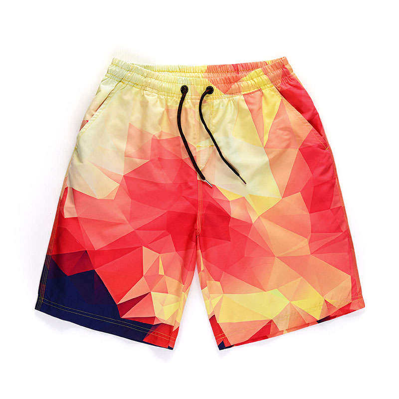 Mens Quick Dry   Shorts   Summer Beach Surfing   Board     Shorts   Men Swimming Trunks Beachwear Sport Gym Fitness   Short