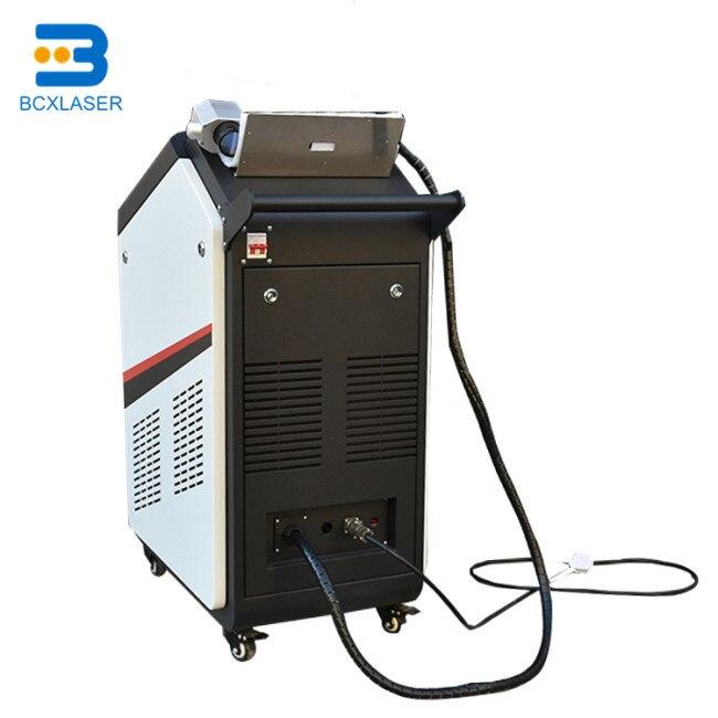 Wuhan mejor servicio 50 W/100 W/200 W láser de fibra máquina de limpieza para pintura/molde de limpieza