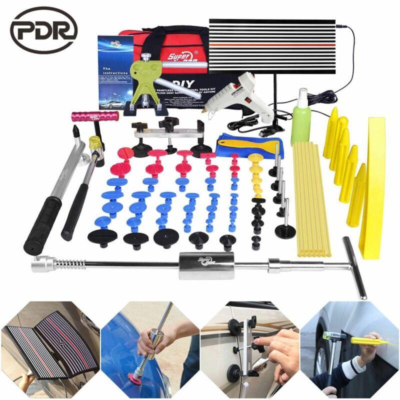 PDR Car repair set Paintless Dent Repair Tool Auto Dent Puller Car Body Dent Damage Repair Hand Tool Pulling bridge hammer-in Hand Tool Sets from Tools    1