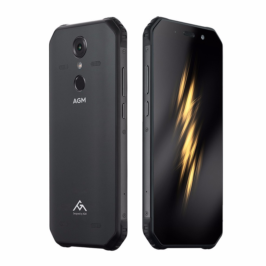 """AGM A9 IP68 Waterproof shockproof mobile phone Android 8.1 5.99"""" 4GB+32GB Qualcomm SDM450 Octa Core 5400mAh NFC 4G Smartphone"""