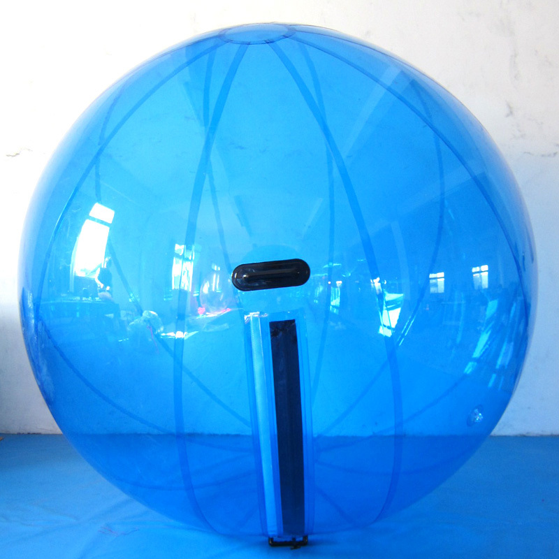Free Shipping Tpu 1.0mm 2.0m Fashionable Waterballs Design,super Quality Bubble Ride,inflatable Water Walking Balls with Zipper