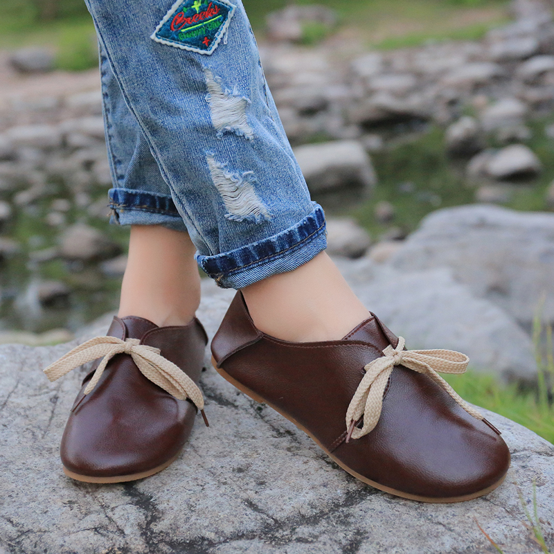Autumn new style thick bottom comfortable wear - resistant shallow-mouthed doll shoes leisure single shoe package mail 10