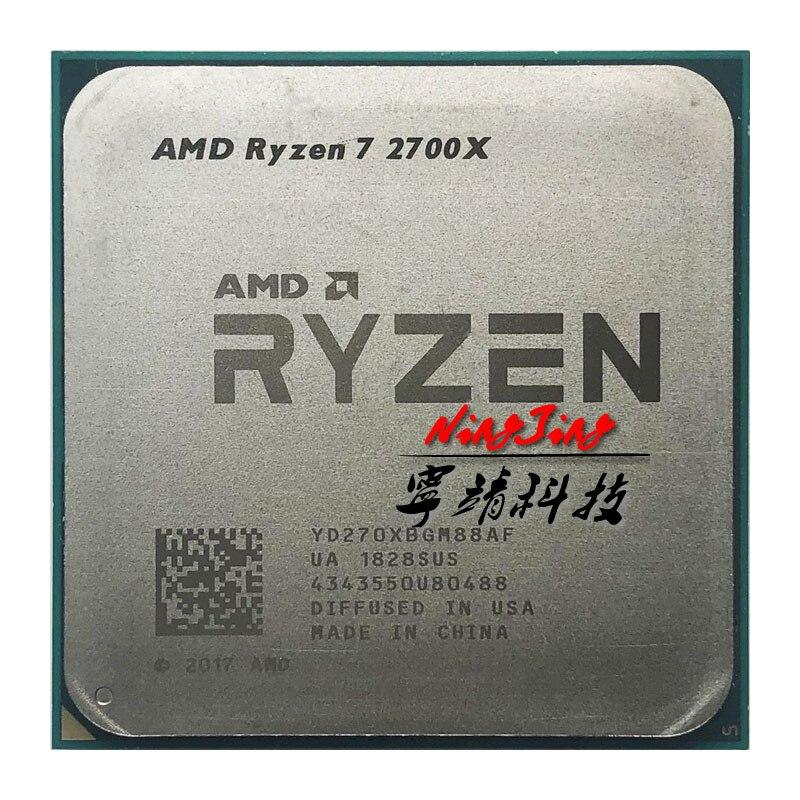AMD Ryzen 7 2700X R7 2700X3.7 GHz huit cœurs Sinteen fil 16M 105W processeur d'unité centrale YD270XBGM88AF Socket AM4-in Processeurs from Ordinateur et bureautique on AliExpress - 11.11_Double 11_Singles' Day 1