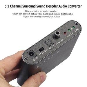 Image 4 - 5.1 Channel HD Audio Rush Digital Surround Sound Decoder Audio Converter DVD