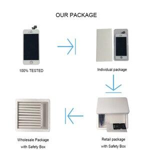 Image 5 - סט מלא הרכבה LCD מסך עבור iPhone 5/5C/5S/SE LCD תצוגת מגע Digitizer מסך מלא החלפת Pantalla + לחצן בית