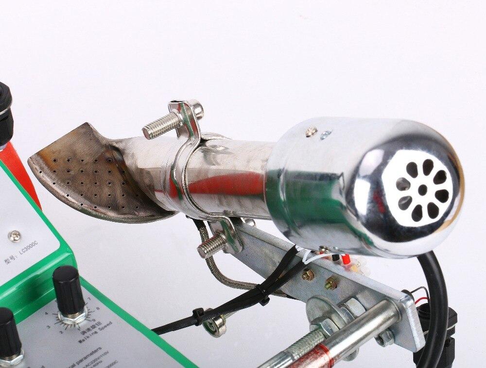 PVC/Plastic automatic welding machine banner welder with swiss hot air gun